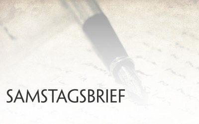 Samstagsbrief für den 22. April 2017