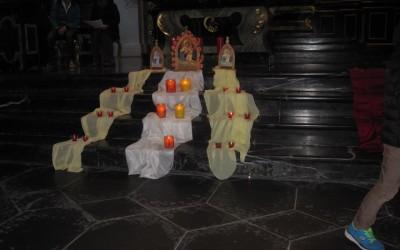 Adventsfeier mit dem Pilgerheiligtum in Pfäfers SG