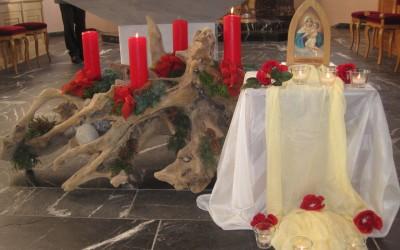 Pfarreigottesdienste mit Vorstellen des Pilgerheiligtum