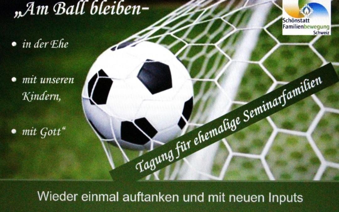 Am Ball bleiben