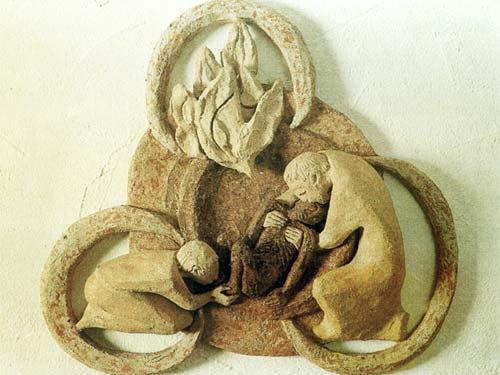 Die barmherzige Dreieinigkeit / Sr. Caritas Müller
