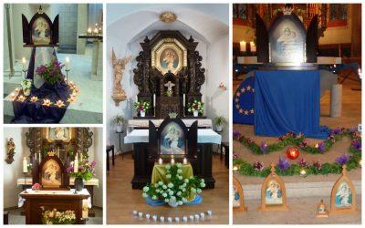 Unser Marienbild wandert durch Europa und durch die Ostschweiz