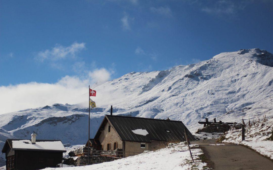 Im Schnee: Herbstlager 2016