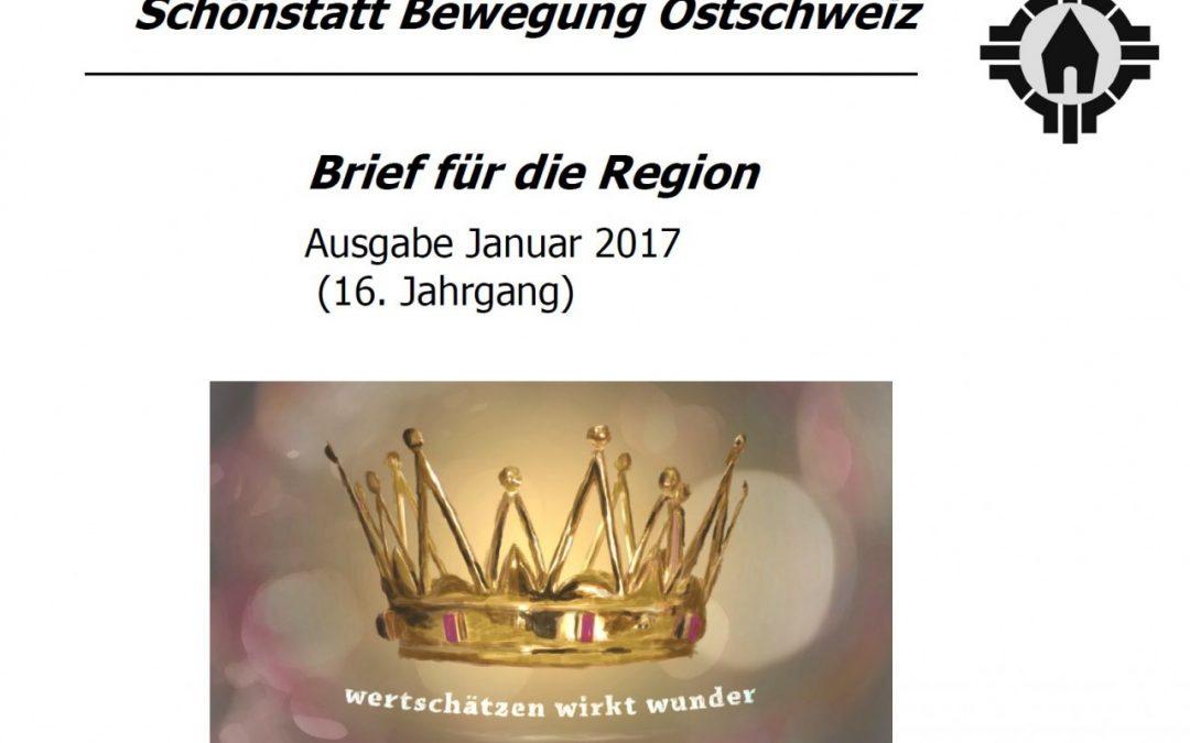 Brief aus der Region Ostschweiz