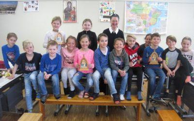 Auf Besuch bei 33 Erstkommunikanten …
