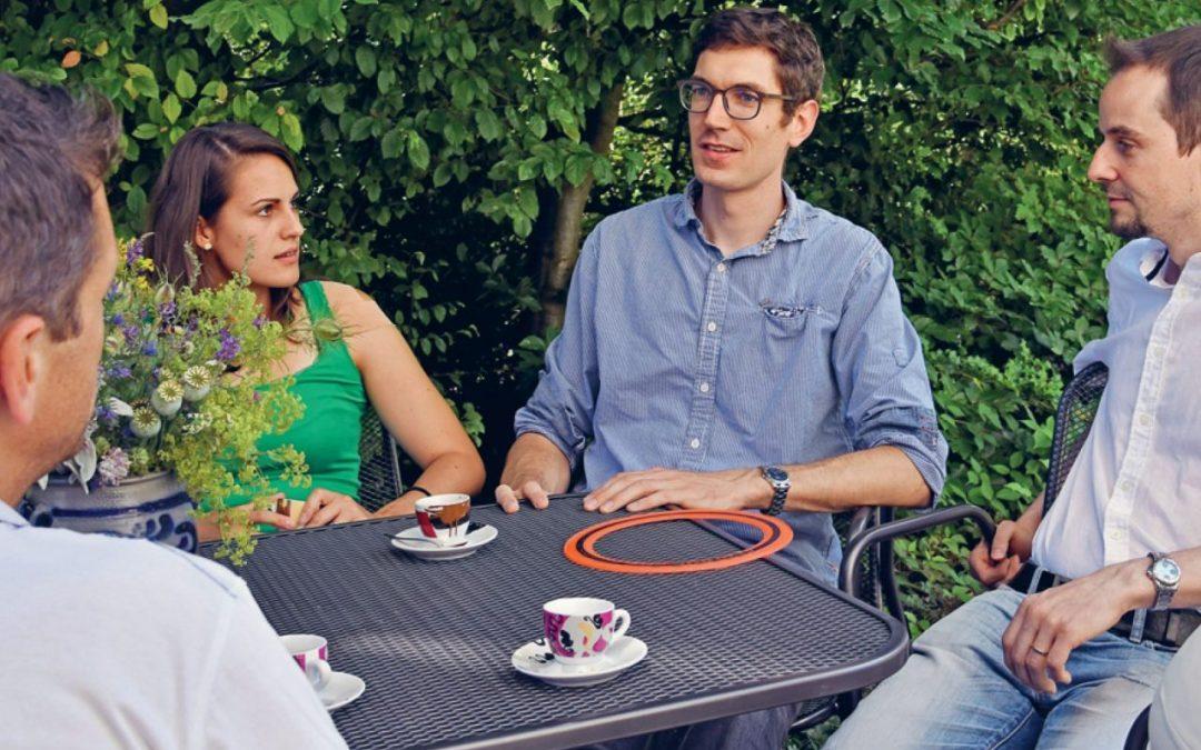 Pfarreiforum Bistum St. Gallen Interview mit Raphael Troxler