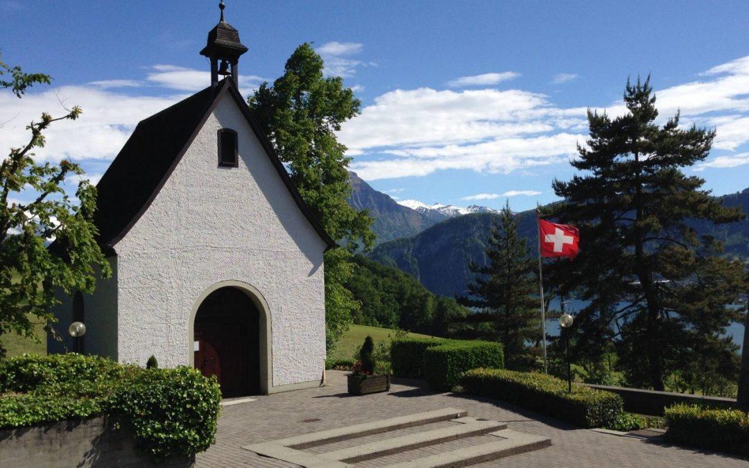 Flyer –  40 Jahre Heiligtum Berg Sion, Horw