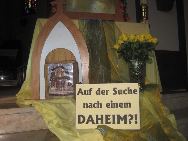 Deutsch und malayalam Sprechende in der Pilgermutter geeint …