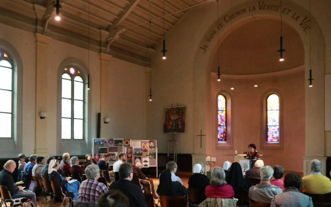 Ökumenisches Treffen von Bewegungen und Gemeinschaften in Montmirail