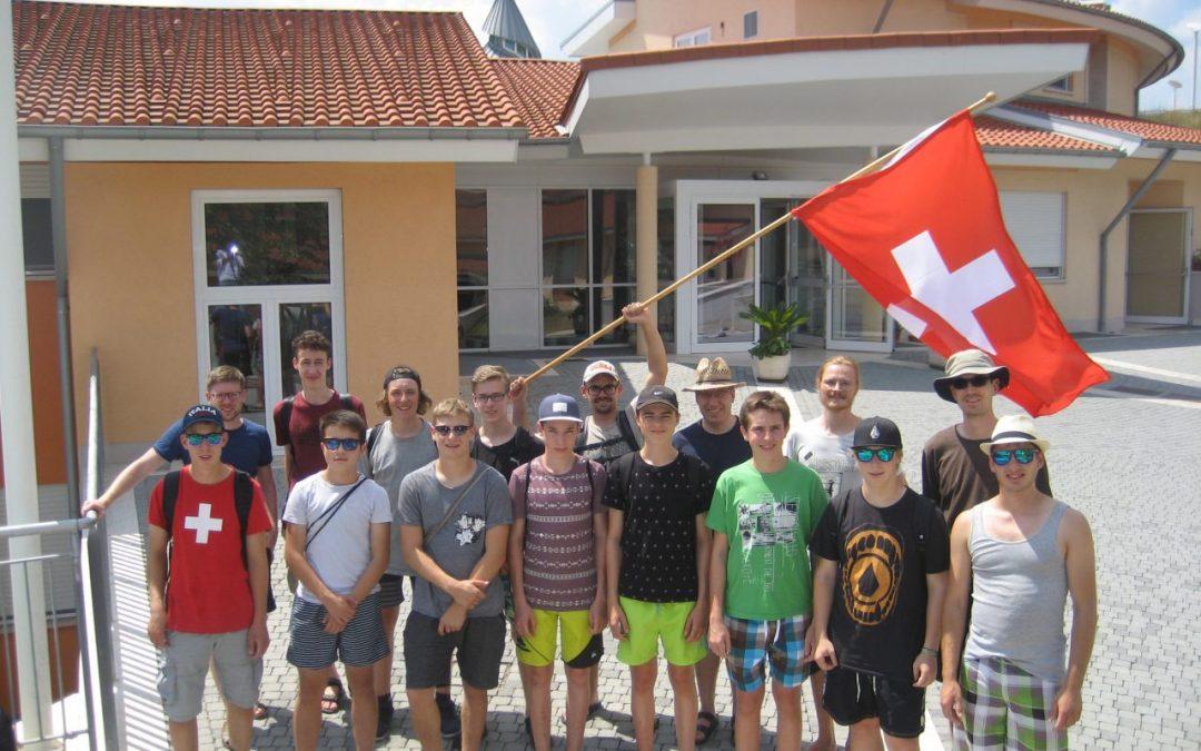 Erste Schweizer Gruppe im neuen Schönstatt Zentrum in Belmonte Rom