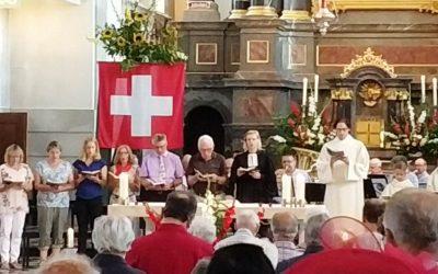 Christen feiern den Nationalfeiertag