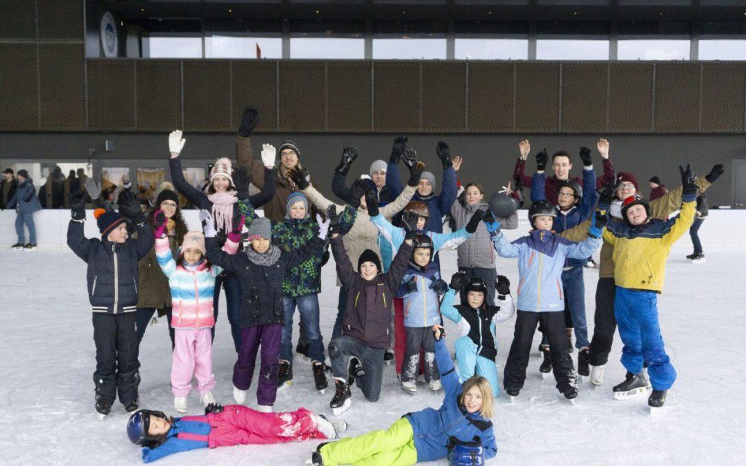 Gruppe Zug on ice